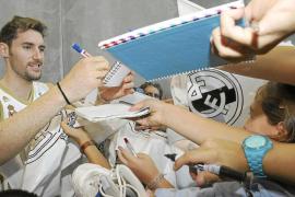 Rudy Fernández, aclamado en su puesta de largo como madridista