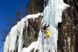 Los hermanos Pou conquistan el hielo de Rjukan en Noruega