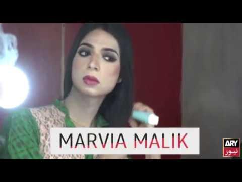 Marvia Malik rompe barreras al ser la primera transexual presentadora de TV en Pakistán