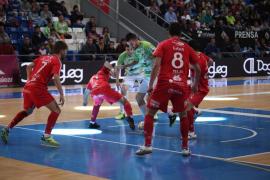 El Palma Futsal sufre una dura derrota en Son Moix ante el Naturpellet Segovia