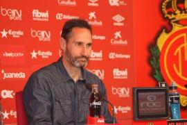 Vicente Moreno: «Somos los primeros que queremos volver a ganar»