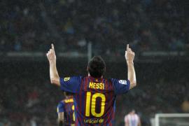 El Barça se da otro festín en el Camp Nou con un «hat trick» de Messi