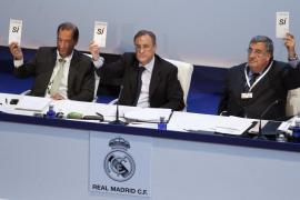 Los socios del Real Madrid  aprueban el 'nuevo Bernabéu'