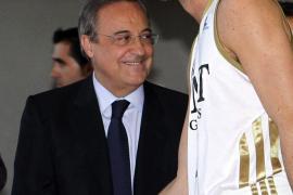 Florentino Pérez: «Rudy es una estrella y nos ha elegido a nosotros»