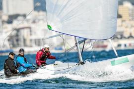 El fuerte viento obliga a suspender la segunda jornada del trofeo Princesa Sofía de vela