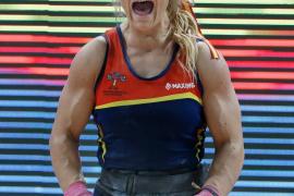 Lydia Valentín, campeona de Europa de halterofília por cuarta vez