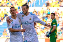 El Real Madrid derrota a Las Palmas con doblete de Bale
