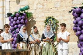 Binissalem despide las Festes des Vermar con una buena previsión de la cosecha de uva