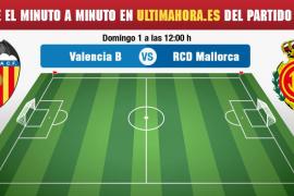 Valencia Mestalla-Real Mallorca, en directo