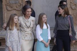 Los palazzo de la Reina y la primaveral corbata del Rey