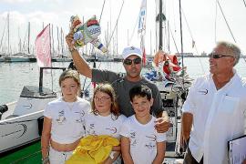 El mallorquín Hugo Ramón inicia su aventura en la Global Ocean Race
