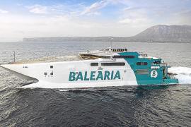 Baleària y Trasmediterránea vuelven a poner los buques de alta velocidad en Baleares