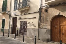 Nuevas pintadas en Can Alcover