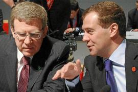 El ministro de Finanzas ruso dimite por sus diferencias con Medvédev