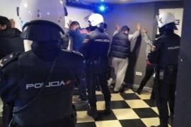 Tres detenidos en Palma en un operativo de prevención de la delincuencia en locales de ocio