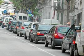 La Gran Vía Colom es el punto de más contaminación atmosférica de Mallorca