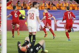 El Bayern remonta ante el Sevilla y deja la semifinal muy favorable de cara a la vuelta