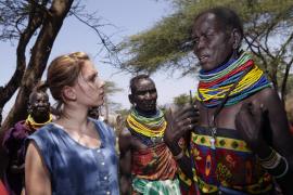 Scarlett Johansson visita el Cuerno de Àfrica