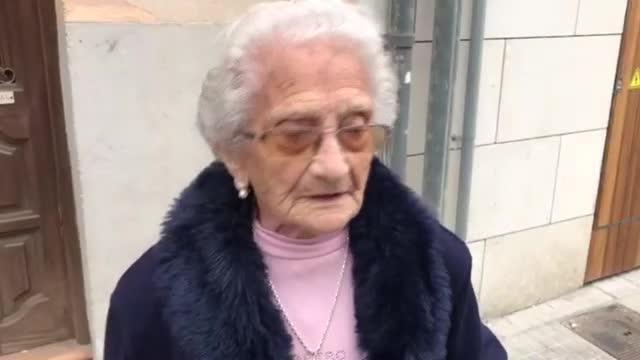 Antònia Gelabert, una centenaria muy activa