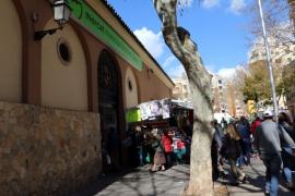 Los productos del mercado de Pere Garau se podrán comprar 'online' a domicilio