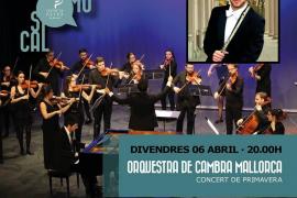 Concierto de la Orquestra de Cambra de Mallorca en Es Quarter
