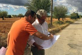 Inca invierte 163.000 euros en la mejora del pavimento de cinco caminos rurales