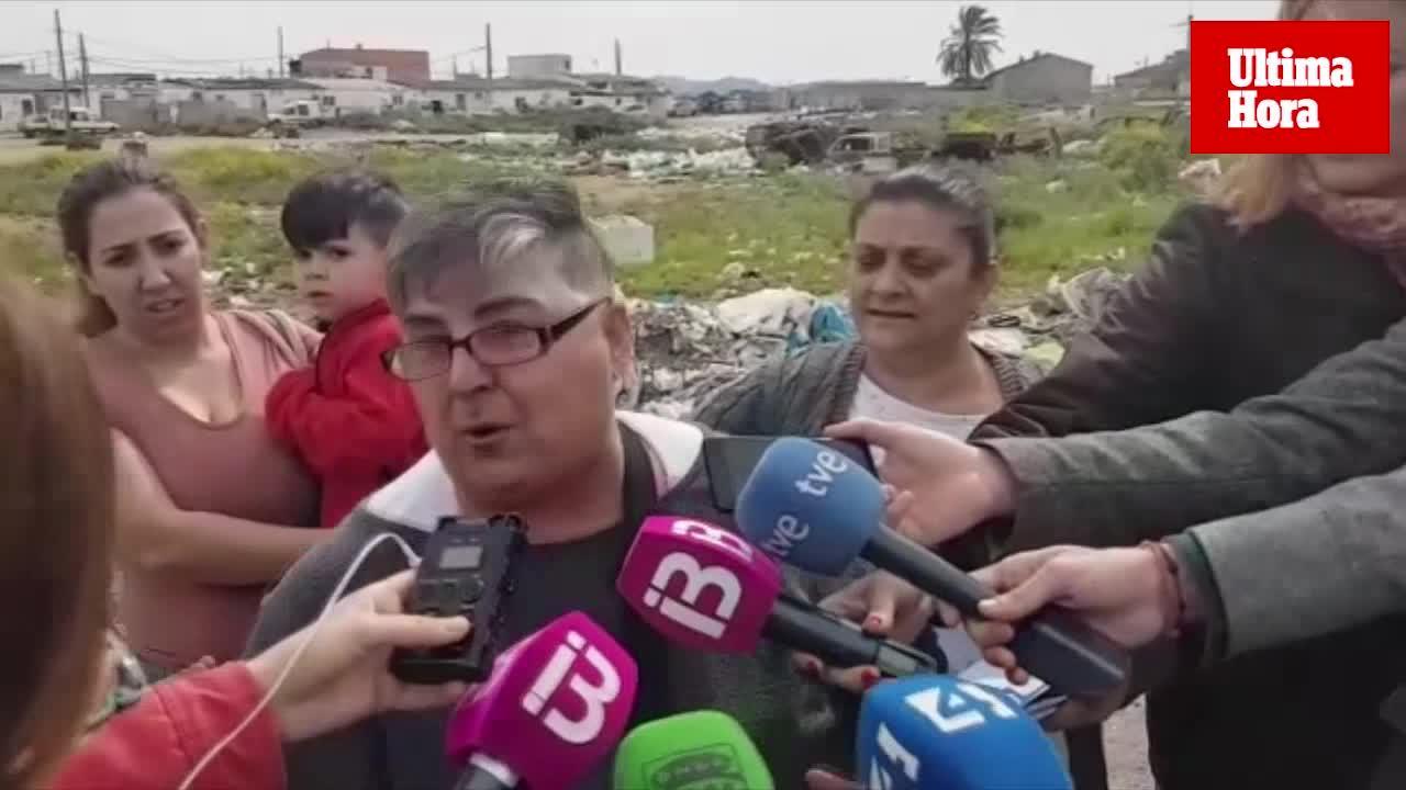 Las familias de Son Banya ven un «chanchullo» en su desalojo