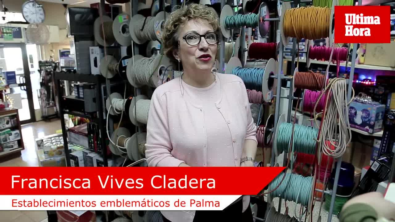 Francisca Vives, de Eléctrica Ramblas: «Las grandes superficies y la crisis nos han hecho mucho daño»