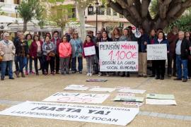 Marcha por unas pensiones dignas (Fotos: M. Sastre)