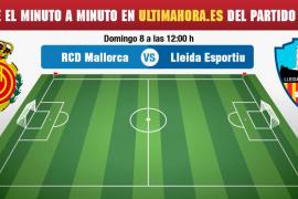 Real Mallorca-Lleida, en directo