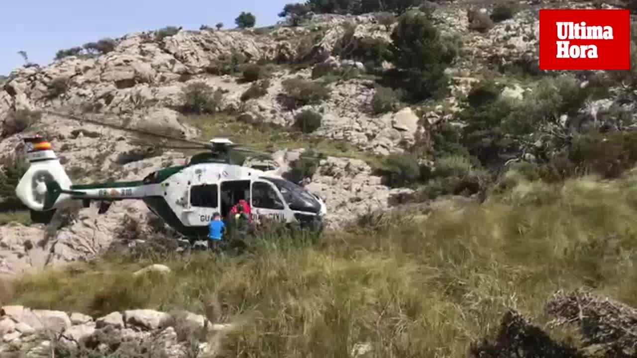 Rescatan a cuatro excursionistas desorientados en Els Cingles de Son Rullan