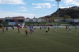 El Atlético Baleares da un golpe en la mesa en Sagunto