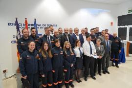 Calvià celebra con gran éxito la diada de Protección Civil y Emergencias