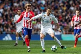 Cristiano y Griezmann firman el empate entre Real Madrid y Atlético