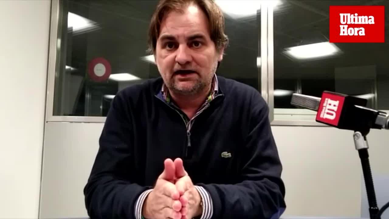 Albert Orfila: «El Mallorca tenía que ganar...y lo hizo»