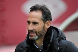 Vicente Moreno: «Tenemos que estar contentos y tranquilos»