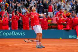 Un indomable Ferrer culmina la remontada ante Alemania y lleva España a las semifinales de la Copa Davis