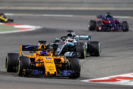Alonso considera que «hemos salvado en el último momento un fin de semana bastante complicado»