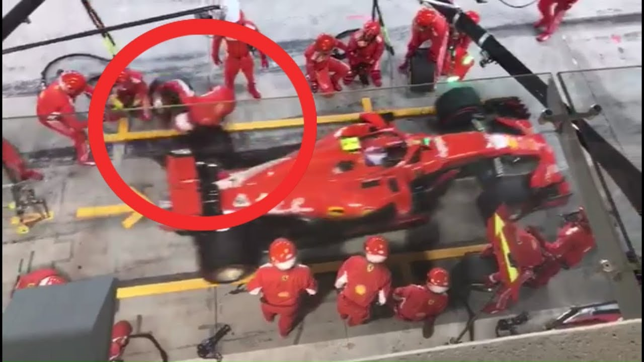 Un mecánico de Ferrari se recupera de una fractura que le provocó su piloto