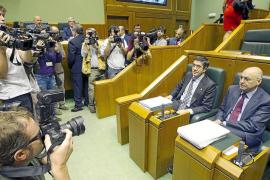 Patxi López propone el acercamiento de los presos a Euskadi si ETA desaparece