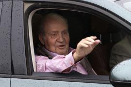 Don Juan Carlos: «Los 100 metros no sé si los podré hacer, pero andaré mejor»
