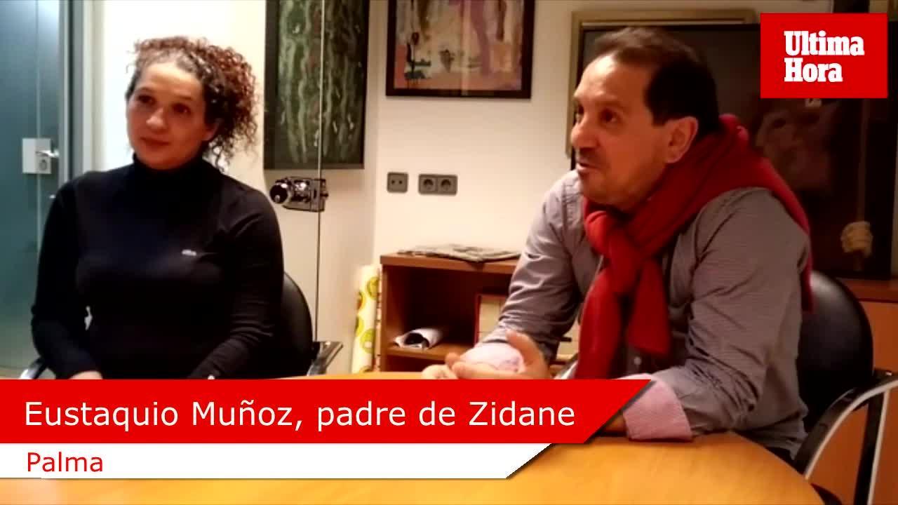 Un aficionado madridista de Palma llama a su hijo Zidane