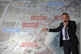 Escarrer presenta un plan para cambiar el urbanismo y la oferta turística de Magaluf