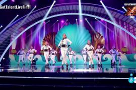 Meritorio quinto puesto de las ibicencas de Davinia Van Praag en la final de 'Got Talent'