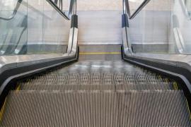 Heridos varios turistas al caer por las escaleras mecánicas del Palacio de Congresos de Toledo