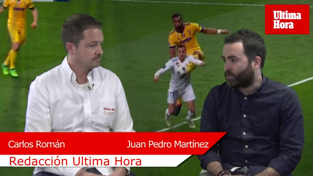 ¿Hubo penalti de Benatia a Lucas Vázquez?