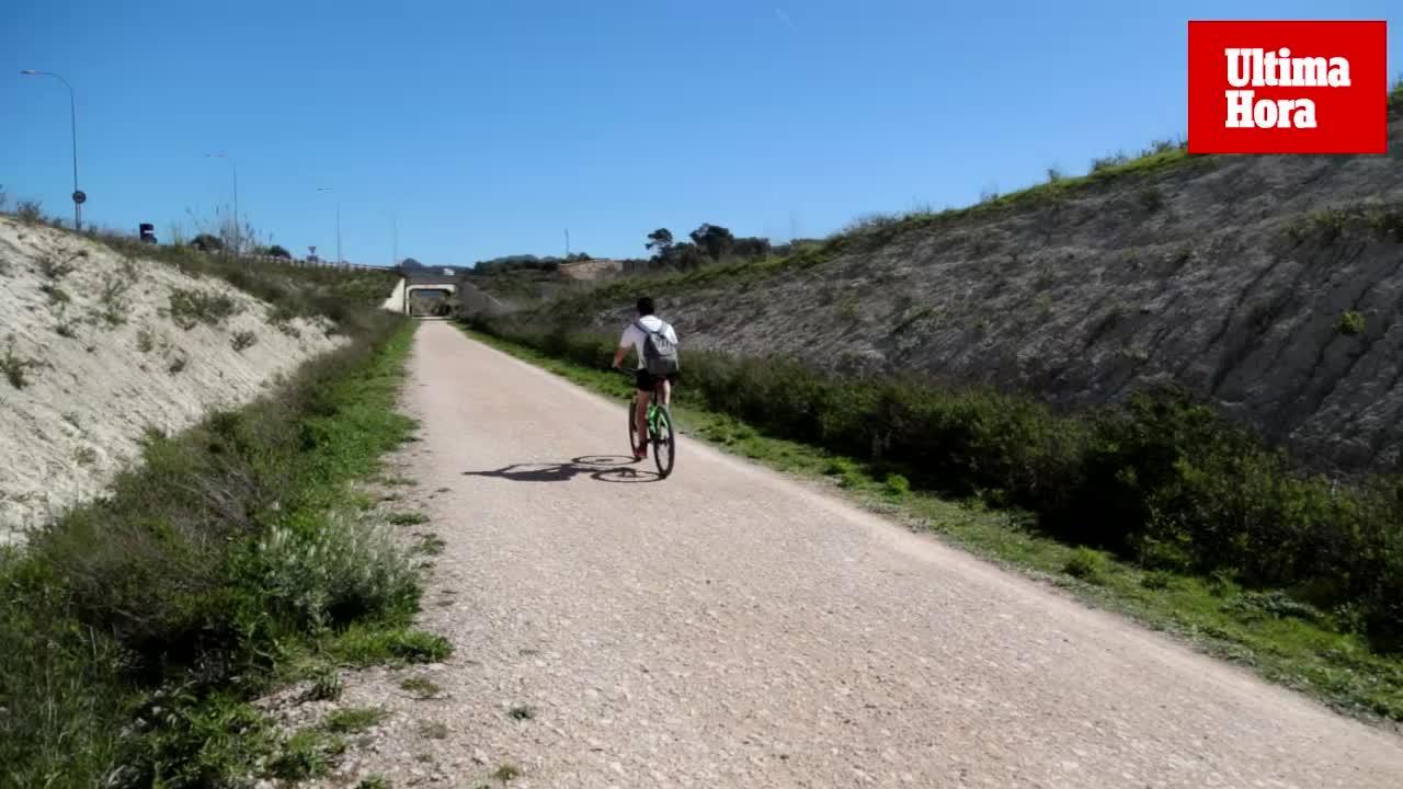 La Vía Verde, entre Manacor y Artà, se convierte en una excursión idílica