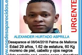 Piden ayuda para encontrar a un joven de 29 años desaparecido en Palma desde el domingo
