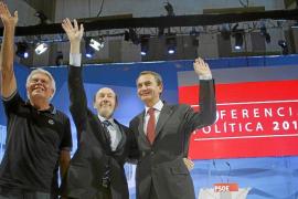 Zapatero: «Rubalcaba ha recortado a ETA hasta dejarla en la agonía»