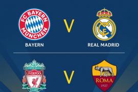 El Madrid se verá las caras con el Bayern de Munich en las semifinales de Champions